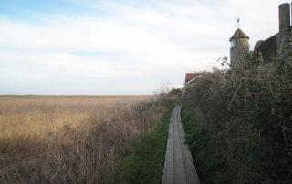 Norfolk coastal footpath.