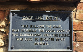 Cage and Pound sign.