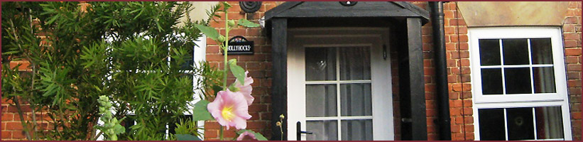 Hollyhocks Cottage.
